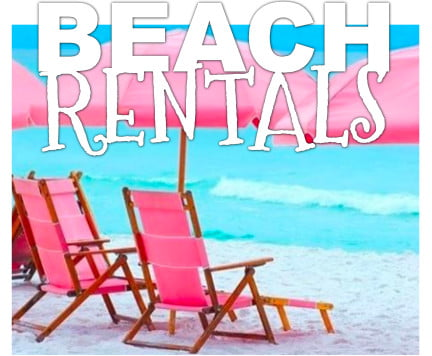 St. George Island Beach Chair Rentals