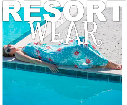 Resort Wear on St. George Island FL